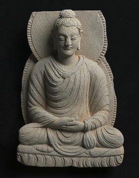 Gandharan sculpture fragments: Seated Buddha. University Art Collections