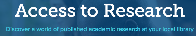 Access to Research logo image