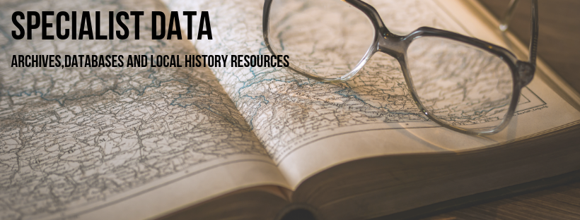 Link to specialist resources. Archives, databases and local history resources.