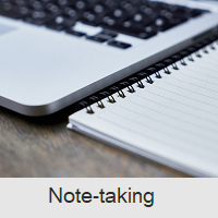 Note taking Resources