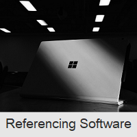 About Referencing Software