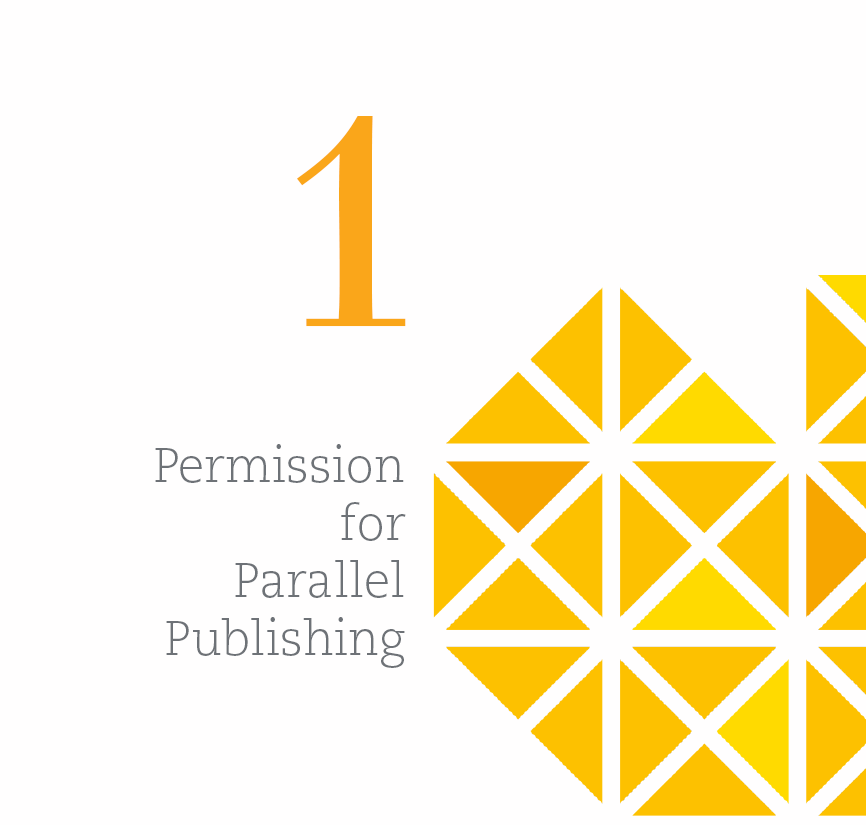 1. Permission for parallel publishing