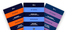 Norstedts striped dictionaries