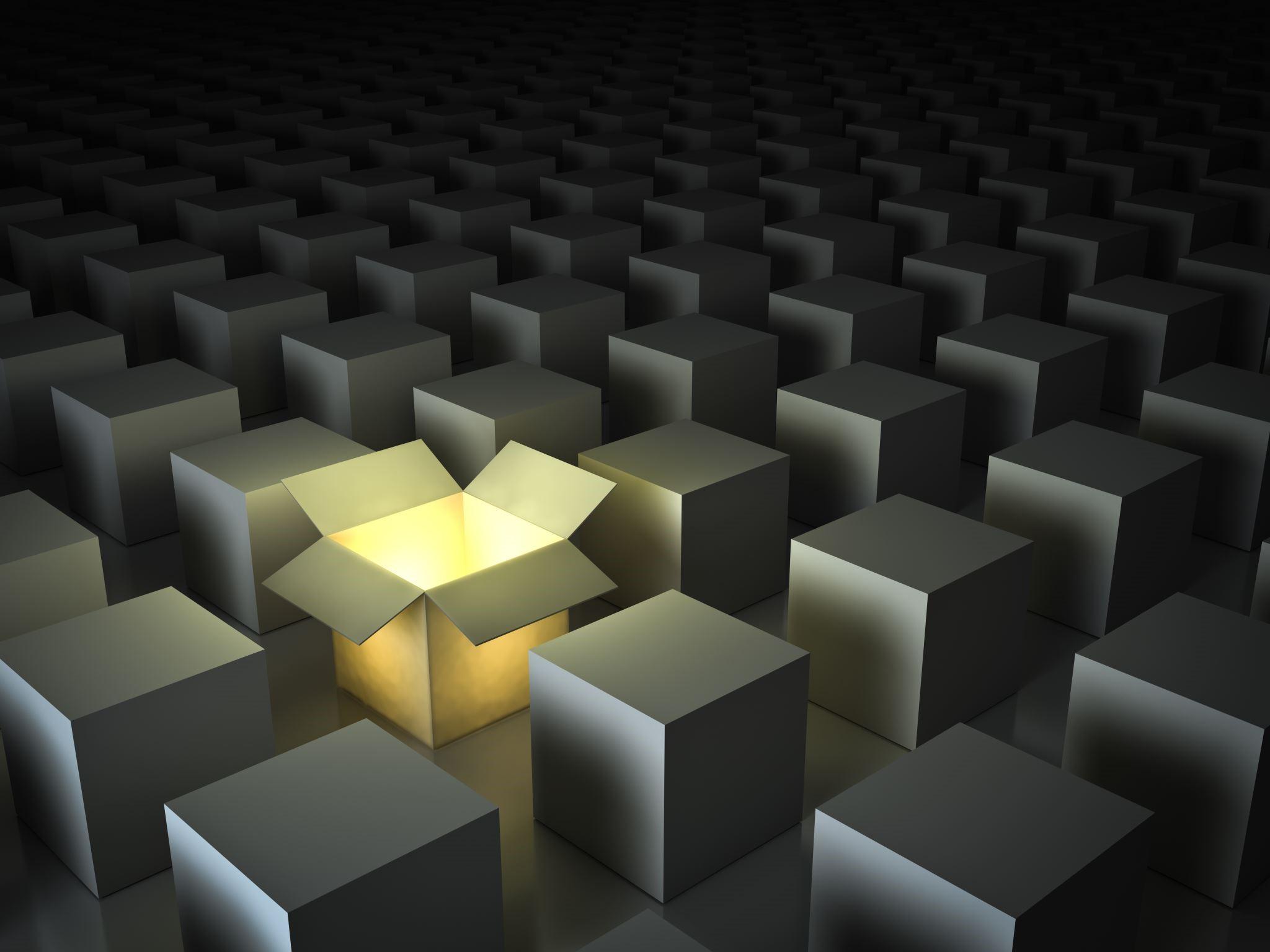 illuminated box