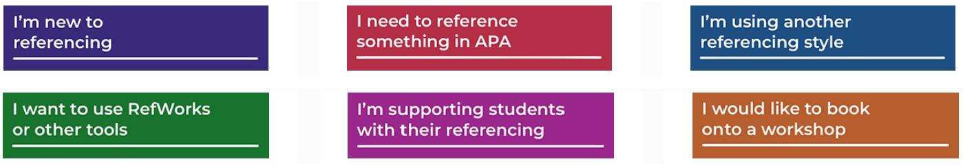 Referencing logo