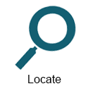 Search Locate Icon