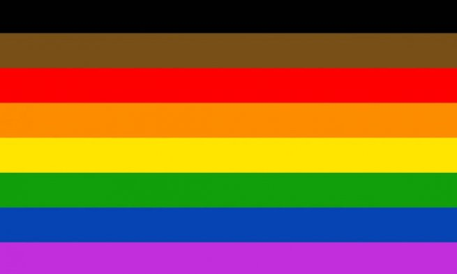 Philadelphia People Of Color Inclusive Flag