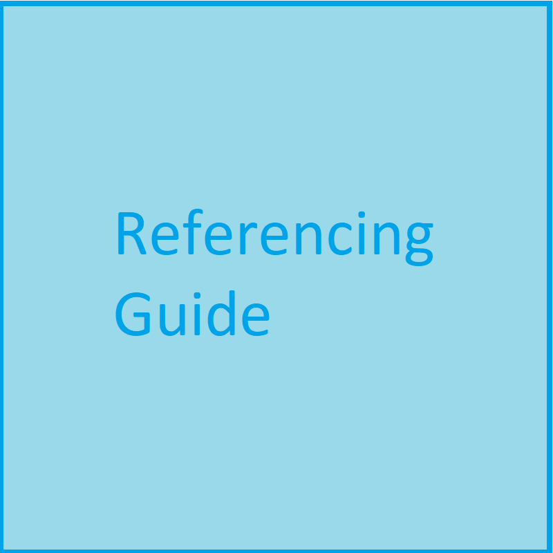 Guide to Referencing