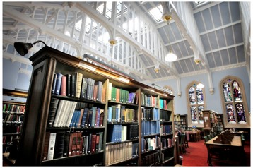 Internal photo of New College Library