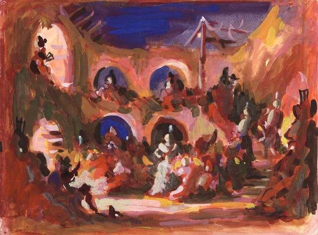 John G Hall artwork