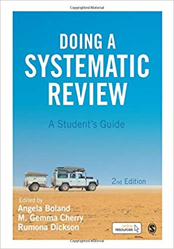Doing a Systematic Review: A students Guide 2nd ed by Boland and Cherry