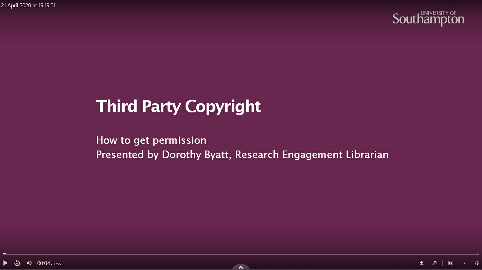 third party copyright how to get permission