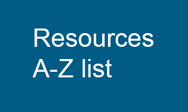 Resources A-Z list