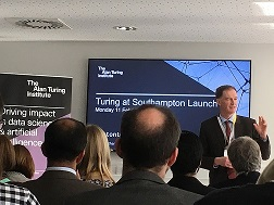 Mark Spearing at Turing@Soutampton launch