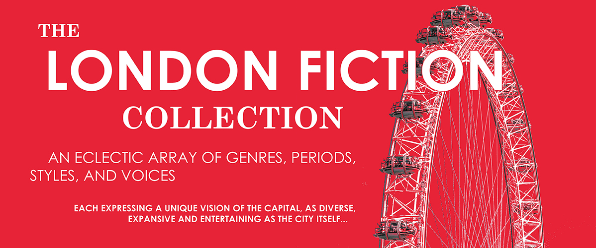 Banner displaying 'The London Fiction Collection'