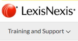 LexisNexis Training and Support