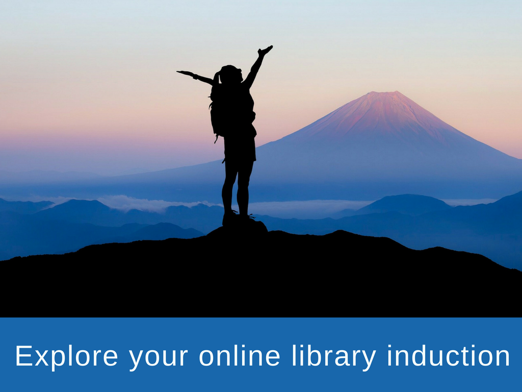 Explore your Library Induction