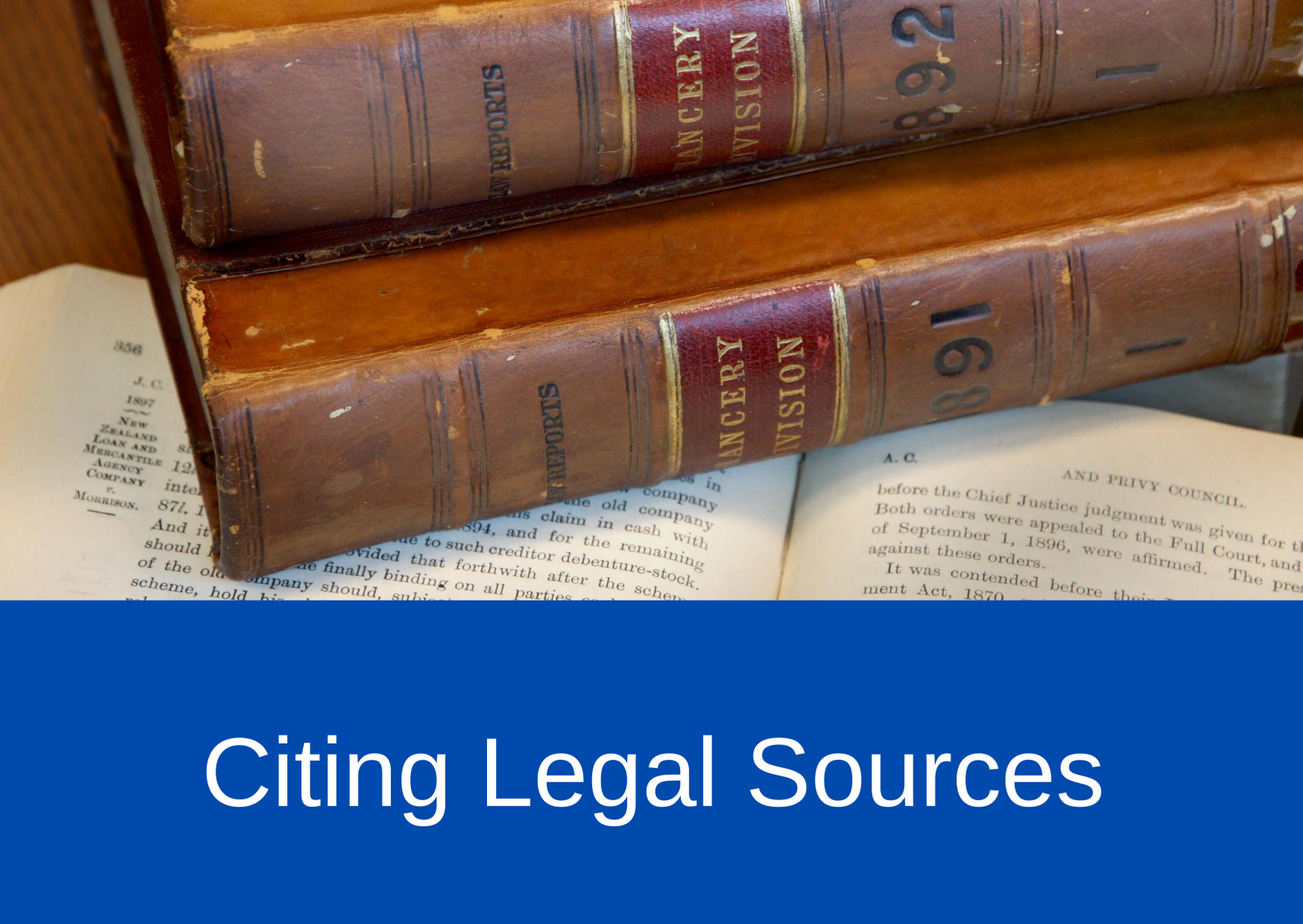 Citing Legal Sources