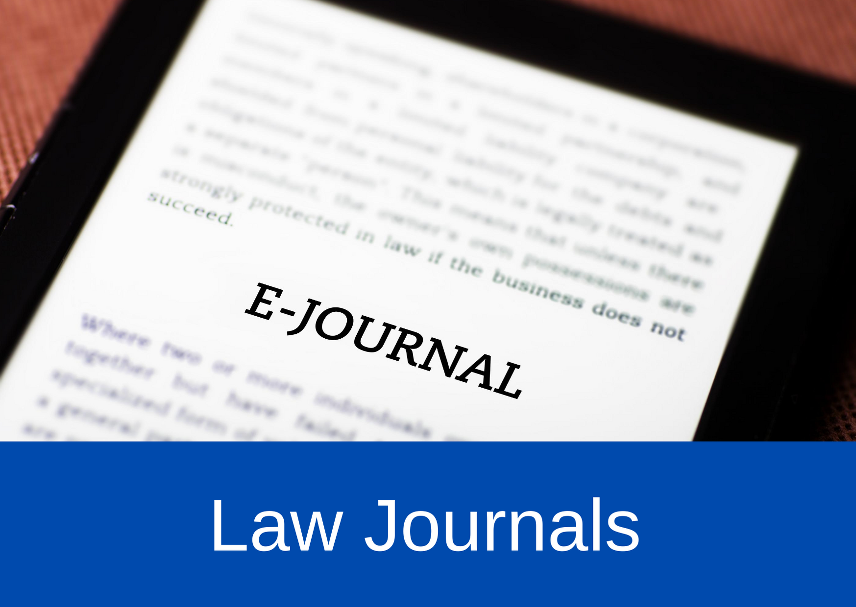 Law Journals