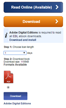 Image of ebook download option