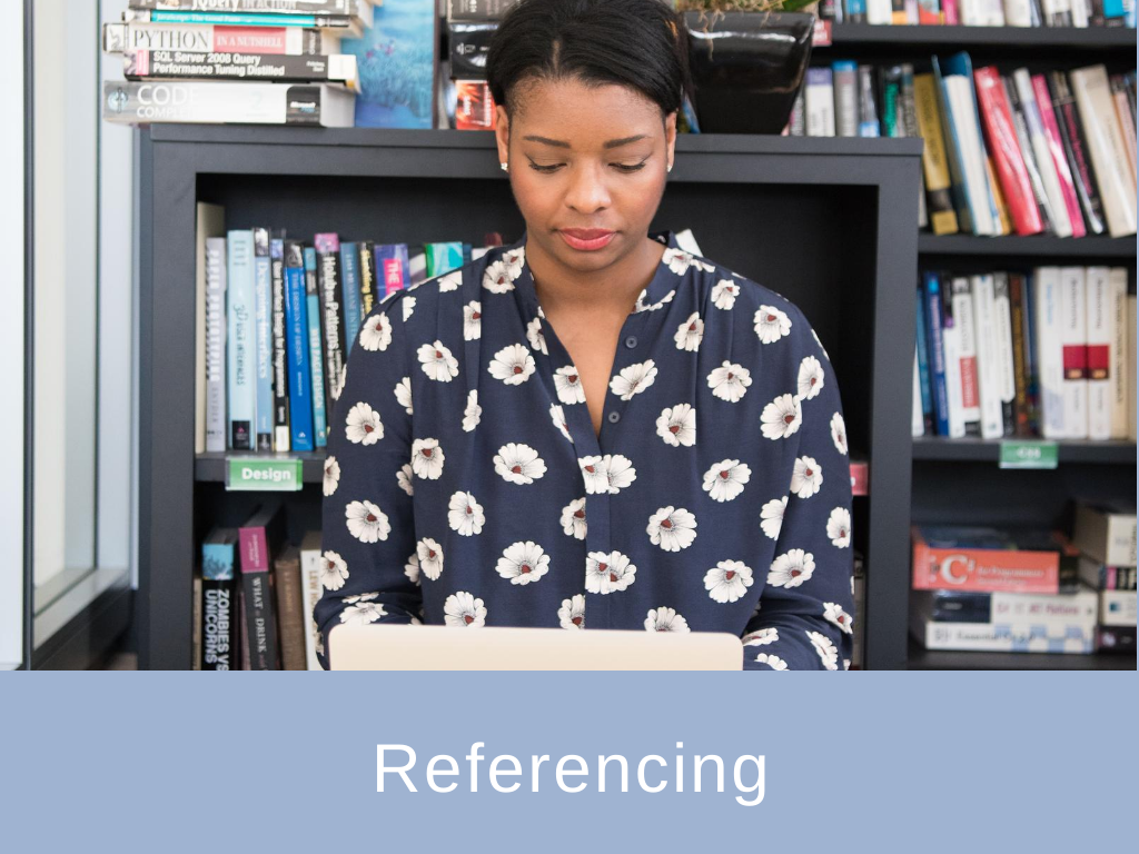 Referencing guidance