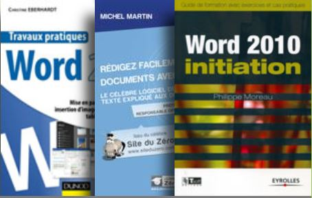 couvertures manuels Microsoft Word