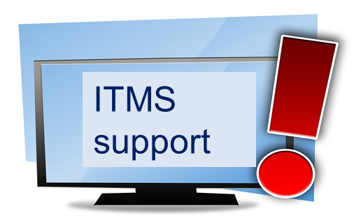 link to ITMS support page