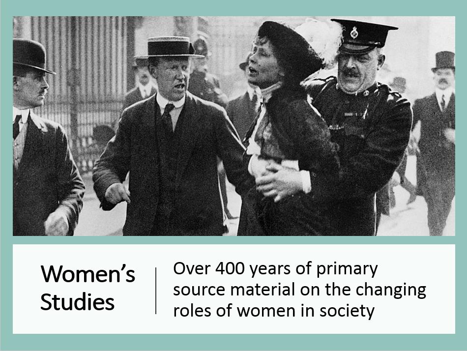 Women's Studies database image