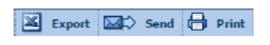 Osiris export, send, and print options