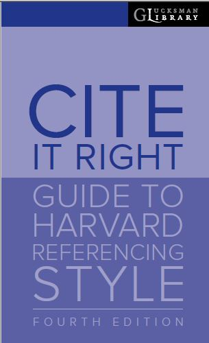 Guide to Harvard Referencing Style