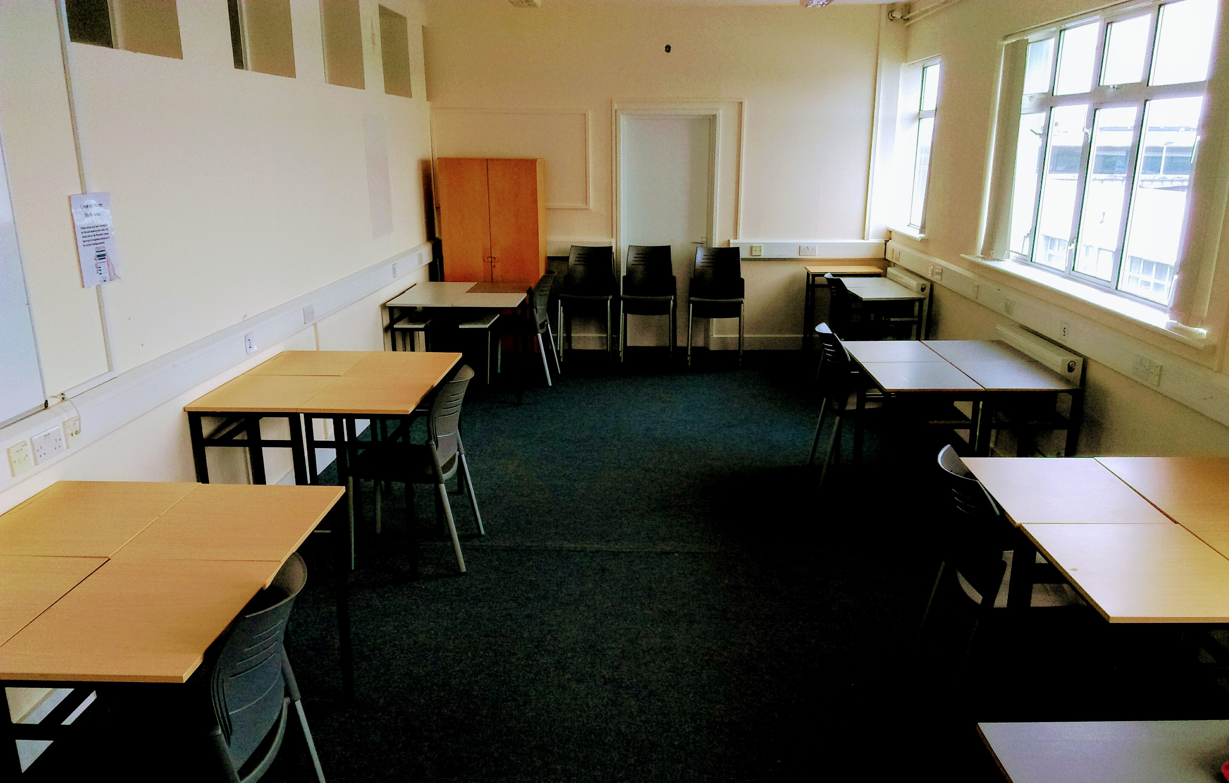 Study space in the Linburgh Room