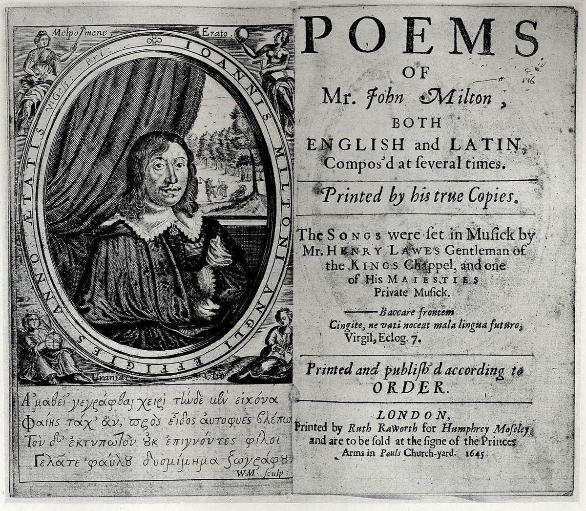 The Poems of John Milton