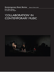 Contemporary Music Review