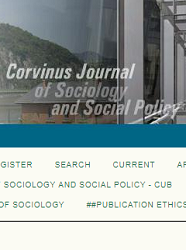 Corvinus Journal of Sociology & Social Policy