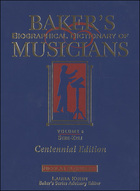 Baker's Biographical Dictionary