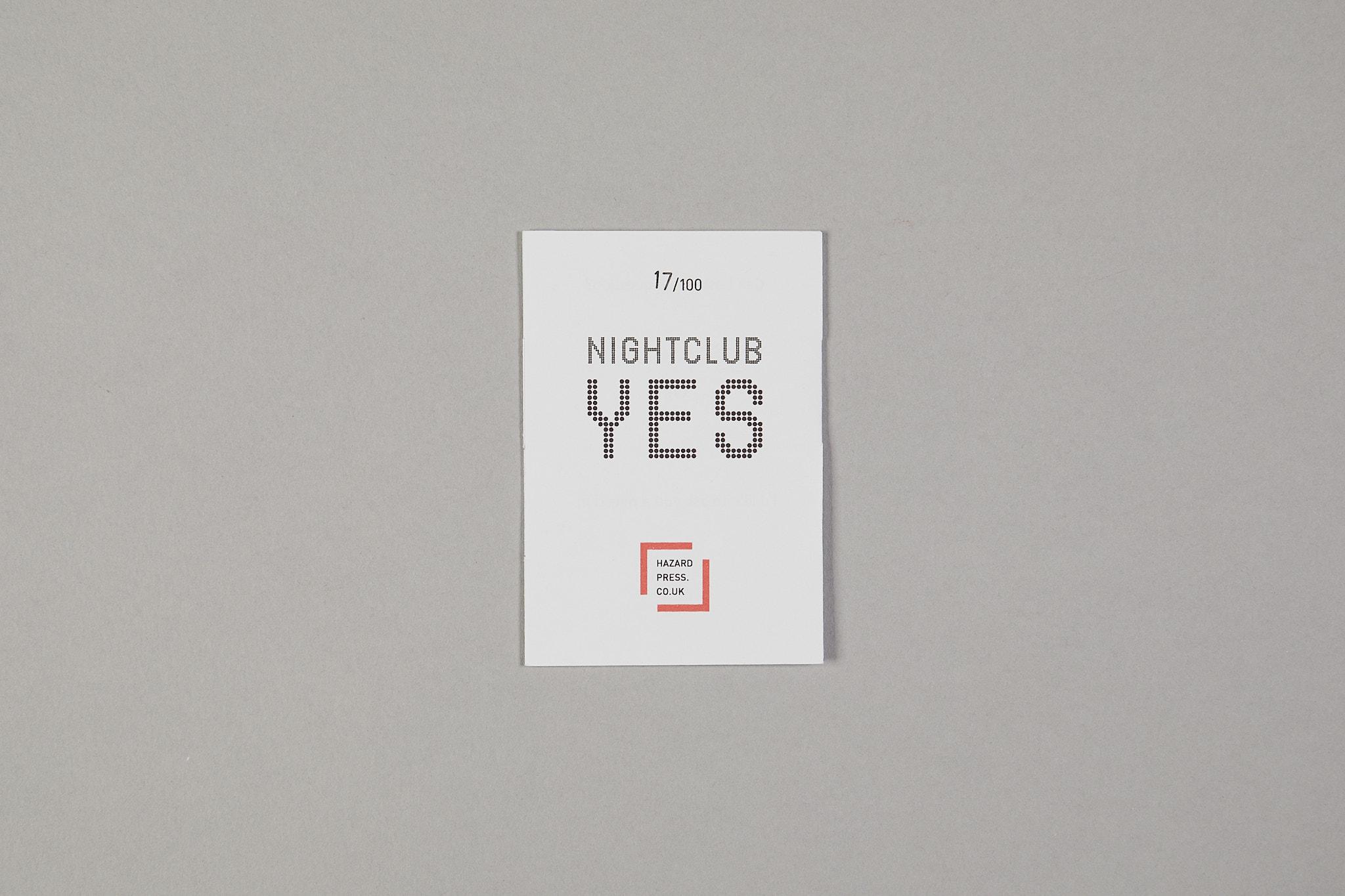 Nightclub yes, nightclub no by Jeremy Dixon (2014)