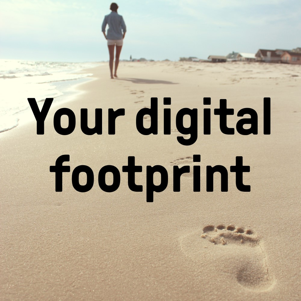 Developing a digial footprint