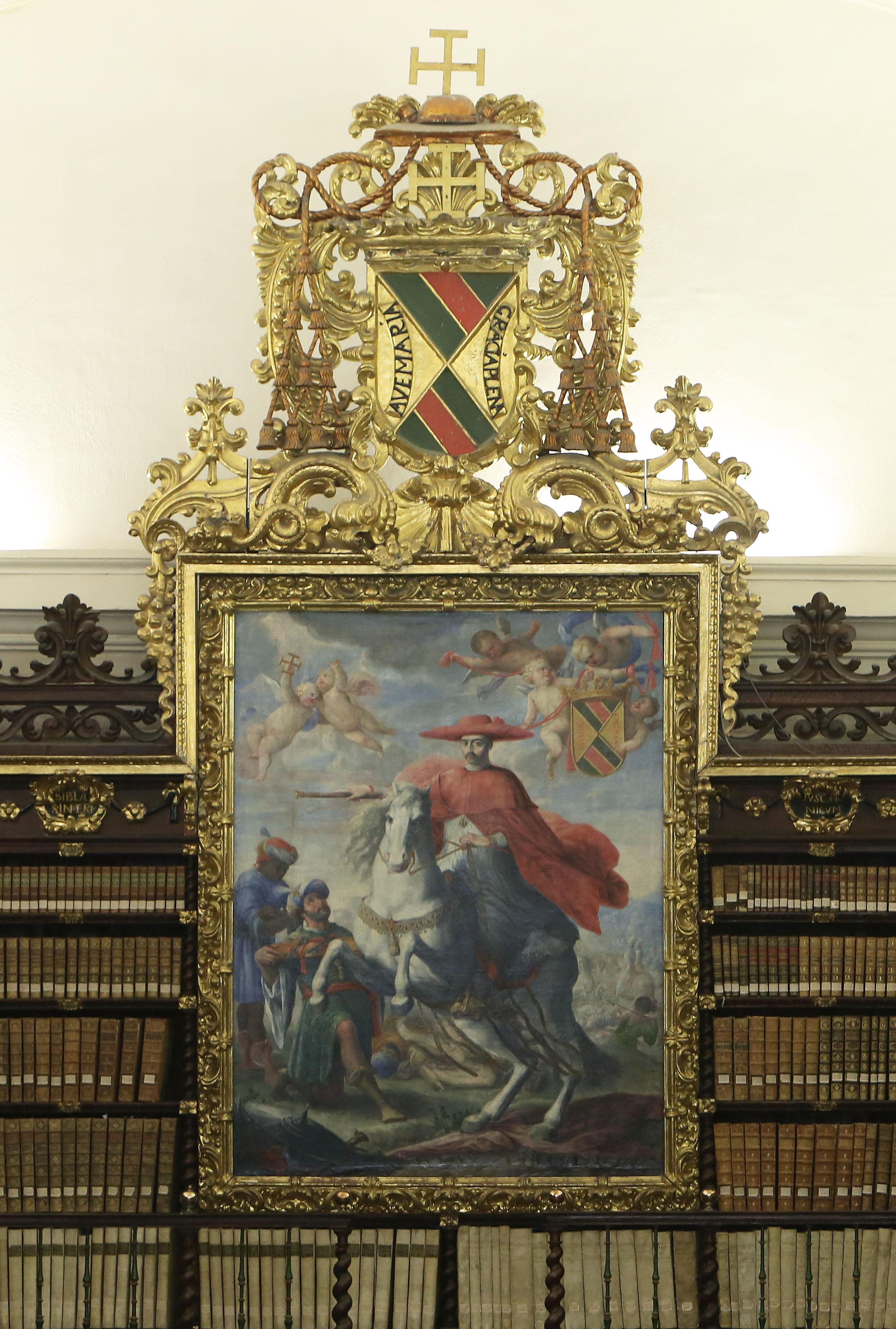 Retrato del Cardenal Mendoza. Siglo XVIII.