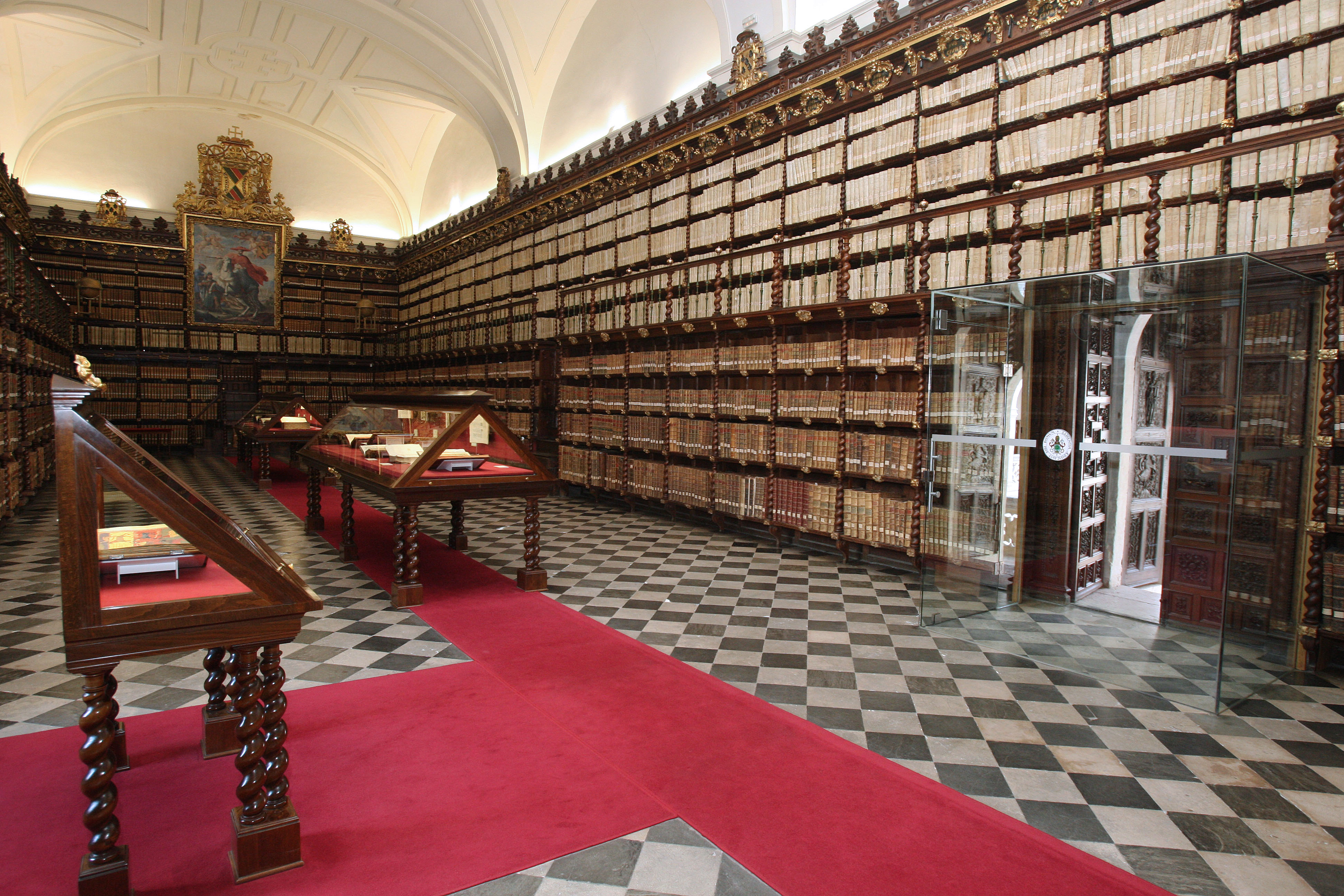 Panorámica Biblioteca histórica