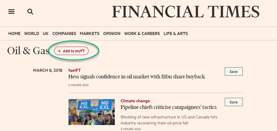 add to my ft icon on oil & gas news page