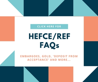 Link to HEFCE Policy FAQs