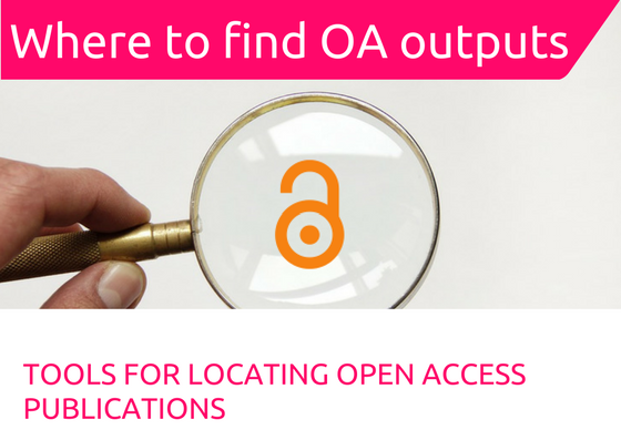 Locating open access output