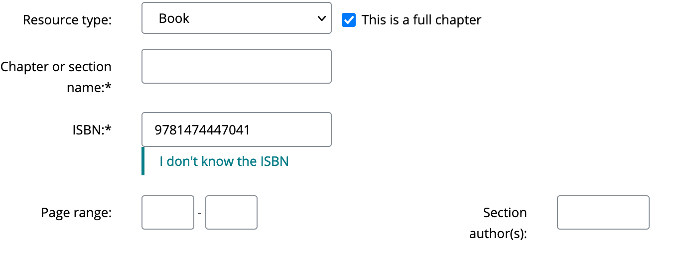 digitisation request form