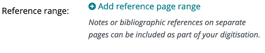 reference page range