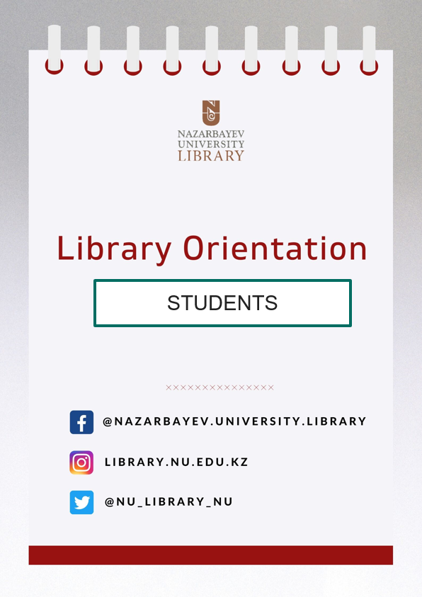 [Online] General Library Orientation for Graduate Students