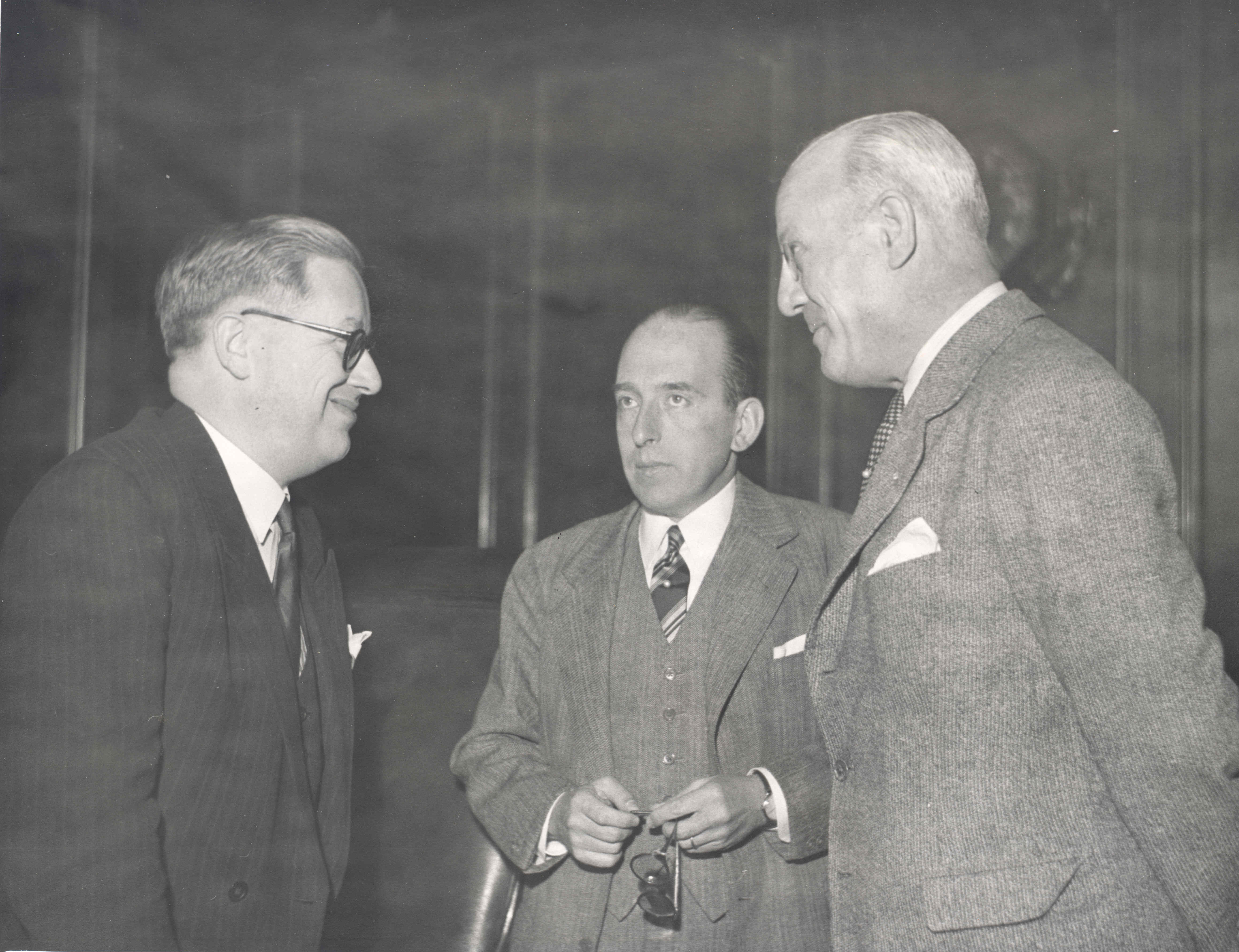 April-May 1950. Preliminary Conference on Migration, Geneva.