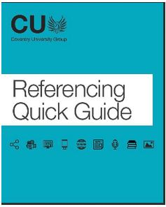 CU Coventry Referencing Quick Guide