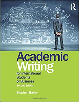 Click here to access the ebook of Academic Writing for International Students of Business