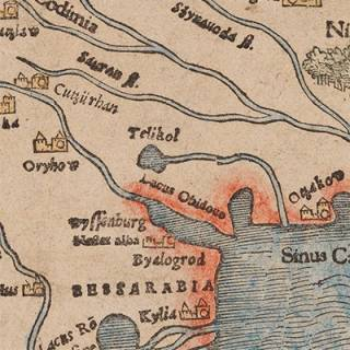 Illustartion of a map from the SSEES Library collection