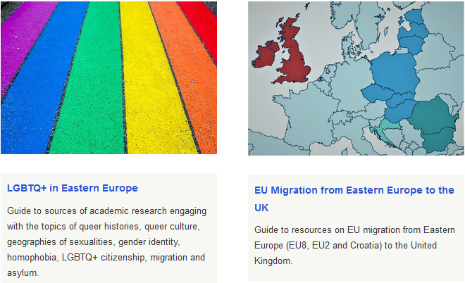Guides to LGBTQ+ in Eastern Europe and EU Migration from Eastern Europe to the UK.